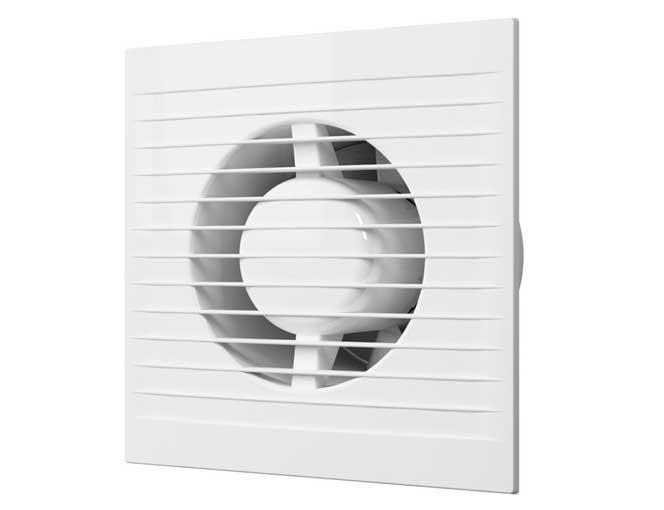 Вентилятор осевой с антимоскитной сеткой, обратным клапаном D100 (E 100 S C)