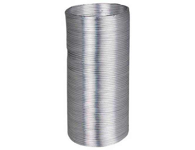 Воздуховод алюминиевый гофрированный 3 м. 12,5 ВА